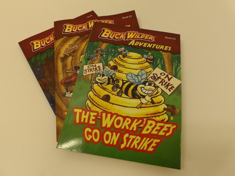 Buck Wilder Adventure Series