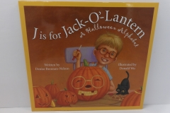 J is for Jack-O-Lantern - Sleeping Bear Press
