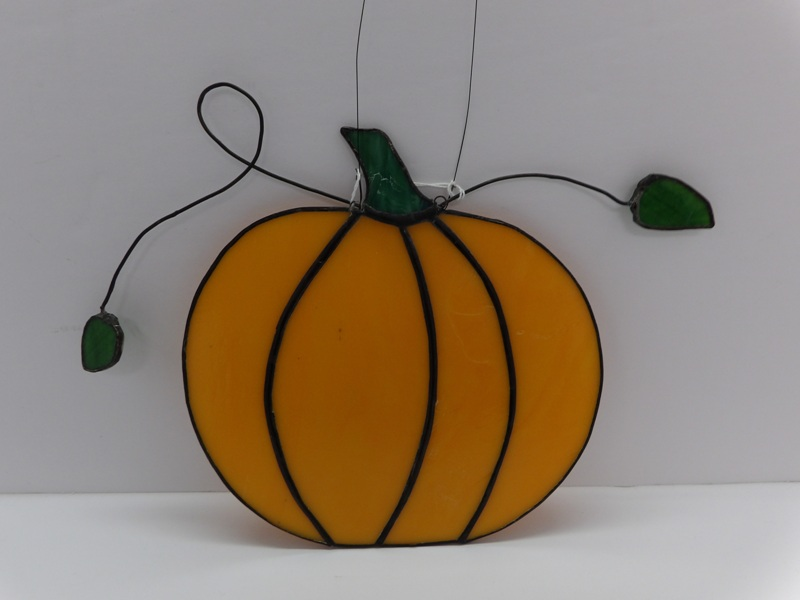 Pumpkin - Stain Glass Art