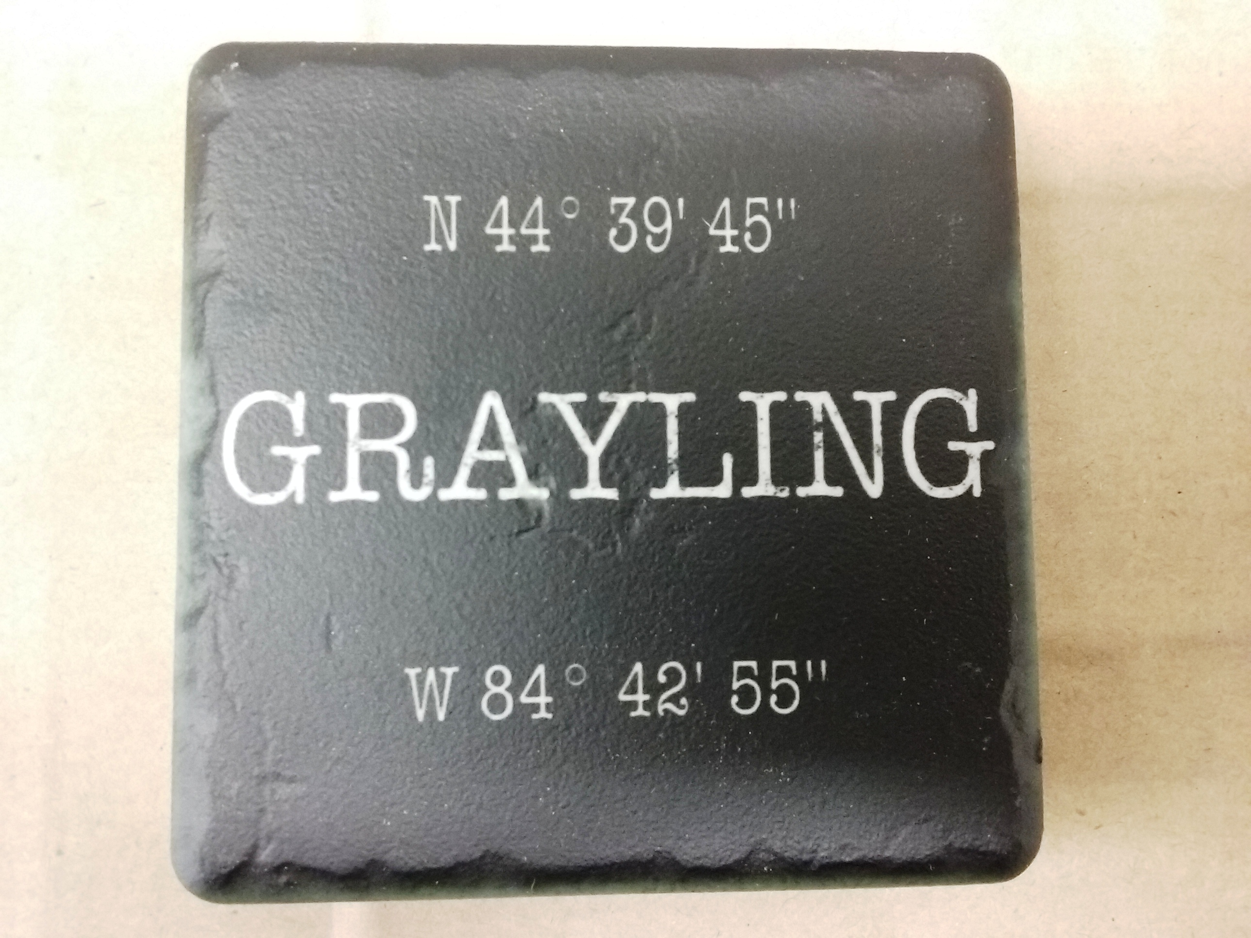 Grayling Coordinates Black