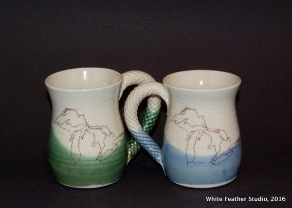 Whitefeather Studio Mugs