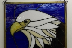 Bald Eagle - Stain Glass Art