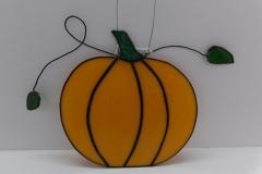 Pumpkin - Stain Glass Art