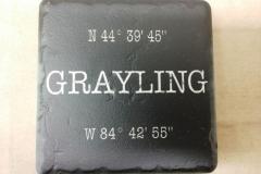 Grayling Coordinates Black