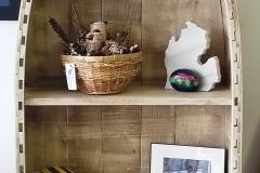 Custom 5 foot Boat Shelf