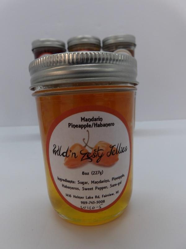 Mandarin/Pineapple Habenero - Wild n' Zesty Jellies