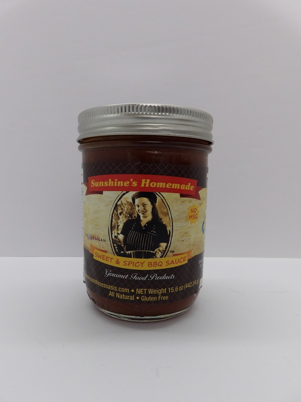Sweet and Spicy BBQ Sauce - Sunshine's Gourmet