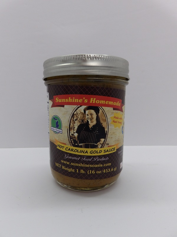 Hot Carolina Gold Sauce - Sunshine's Gourmet