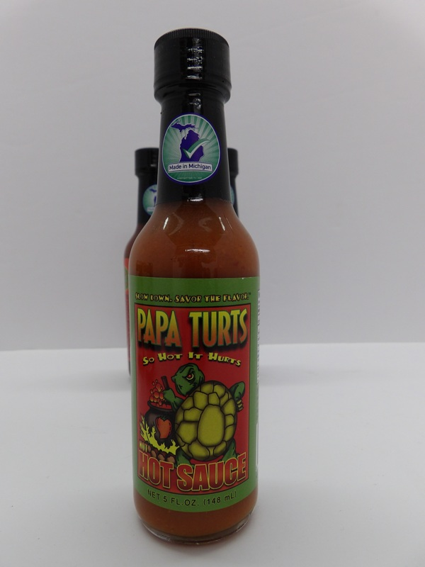 So Hot it Hurts - Papa Turts Hot Sauce