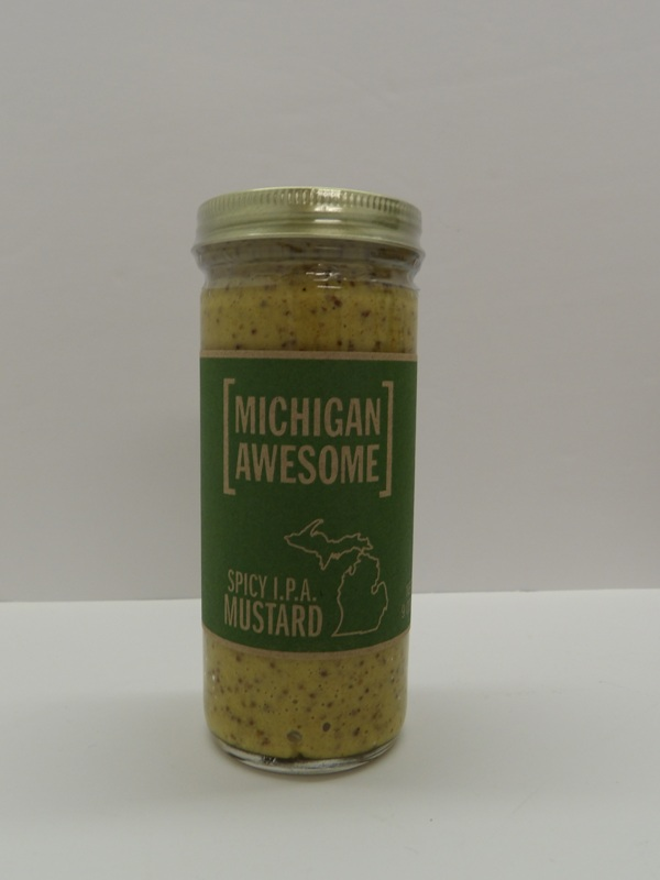 Spicy I.P.A. Mustard- Michigan Awesome