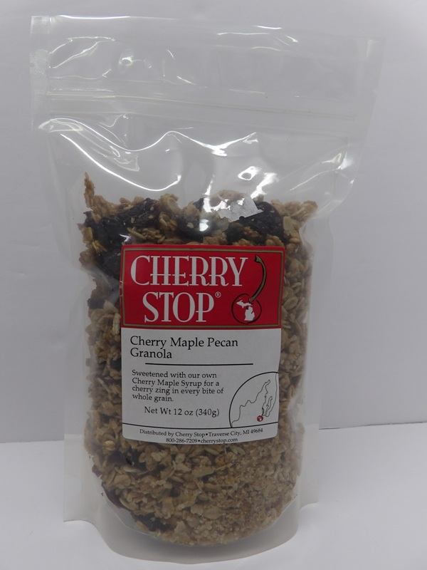 Cherry Maple Pecan Granola - Cherry Stop