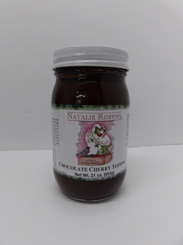 Cherry Chocolate Topping - Natalie Robyns