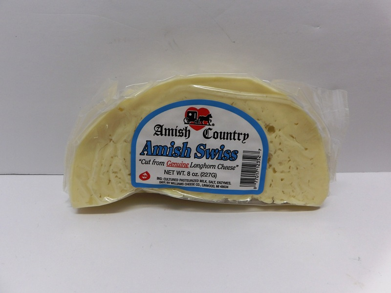 Amish Swiss Half Round - Williams Cheese