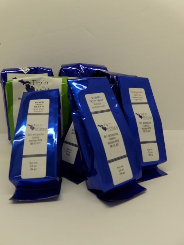 Tip'n the Mitten Coffee Samplers