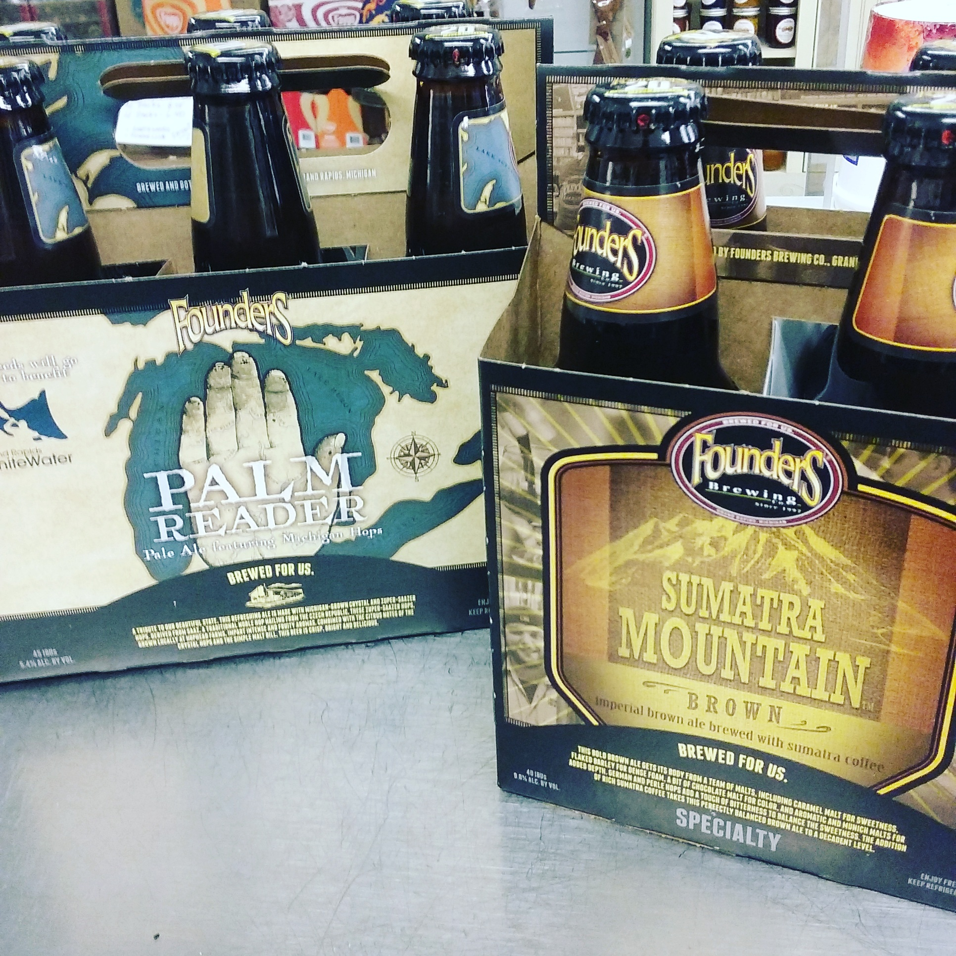 Founders Palm Reader and Sumatra Mountain Brown