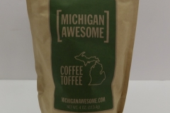Michigan Awesome Coffee Toffee