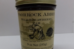 Wild Strawberry Jam - Poor Rock Abbey Jams and Jellies