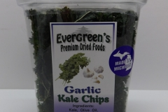 Garlic Kale Chips - Evergreen's