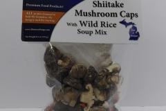 Shittake Mushrooms with Wild Rice - Motown Soups