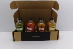 Hell Fire Detroit Hot Sauce Set