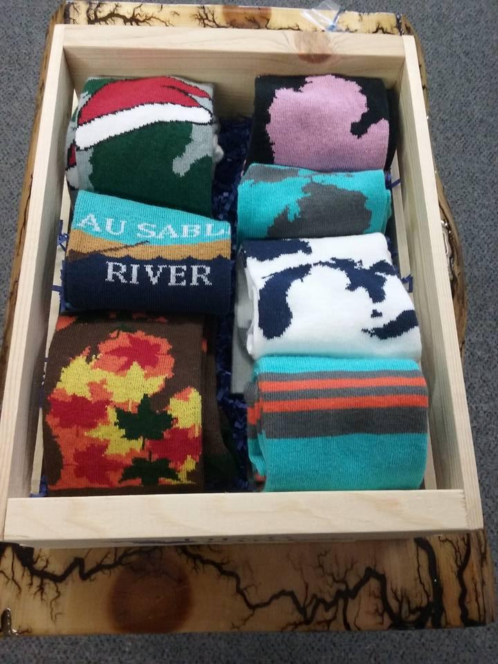 Stack of Socks Box