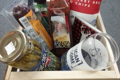 Snack and Sip basket