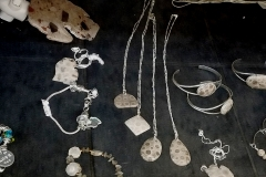 Sterling Silver Petoskey Stone Jewelry