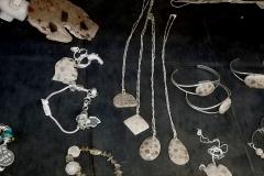 Sterling Silver Petoskey Stone Jewelry