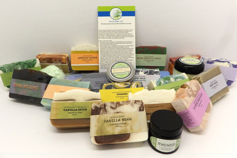 Artisan Soaps LLC at Tip'n the Mitten