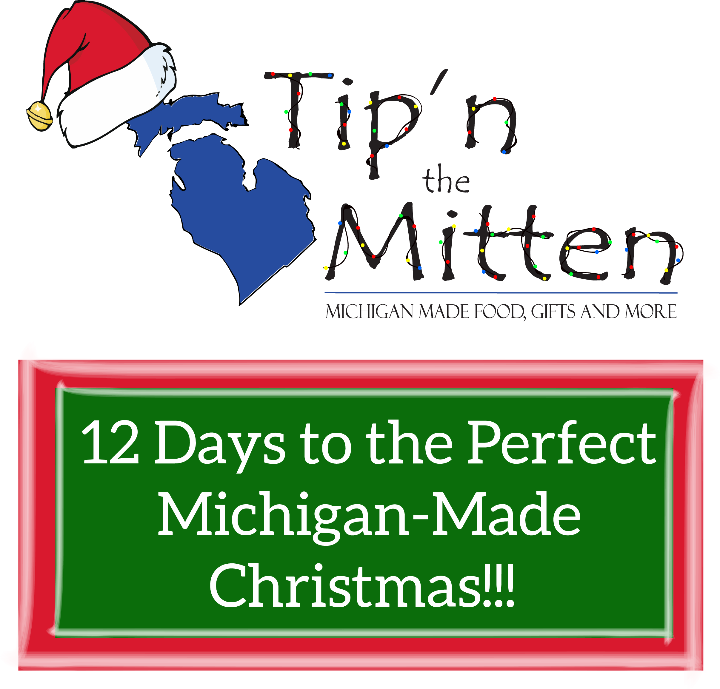 12 Days to Christmas - The Perfect Way to Share the Holidays with Tip'n the Mitten