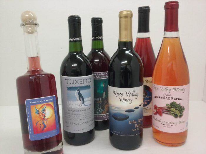 Tipn the Mitten has Michigan Wines