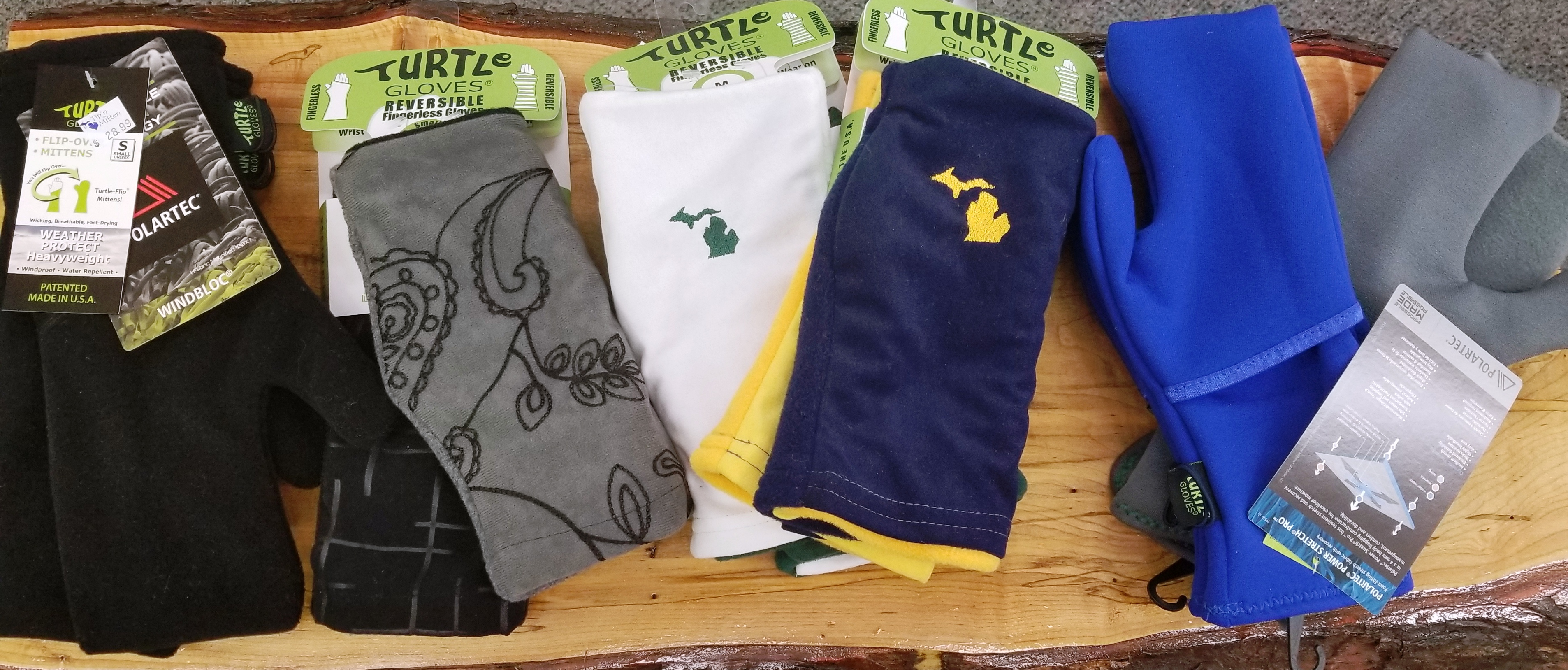 TURTLE GLOVES – FEATURED VENDOR AT TIP'N THE MITTEN!