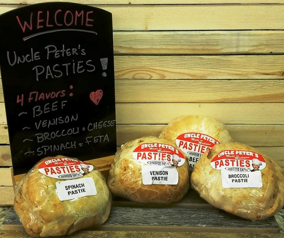 Uncle Peter's Pasties - New Vendor at Tip'n the Mitten