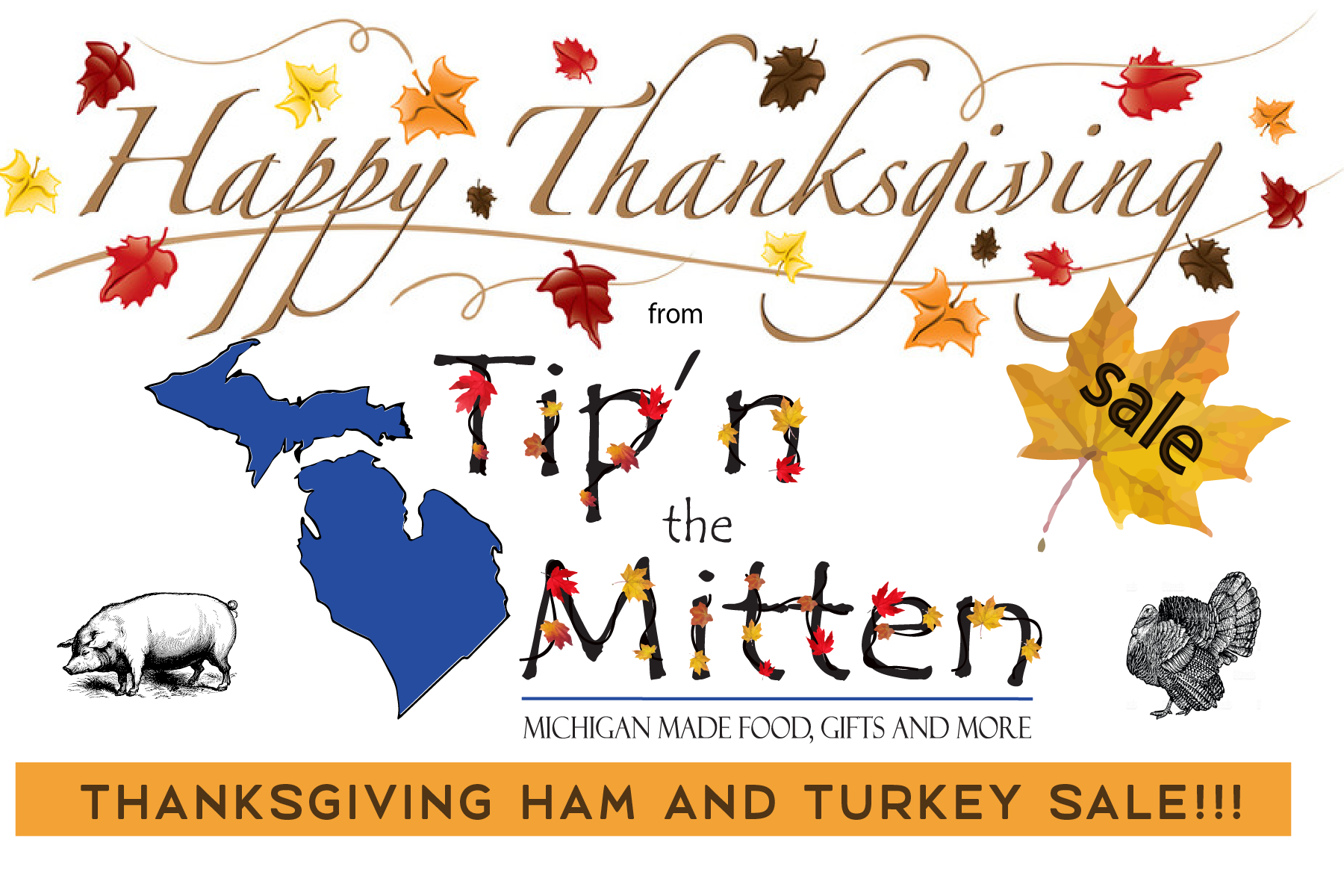 Thanksgiving Dinner Deals from Tip'n the Mitten