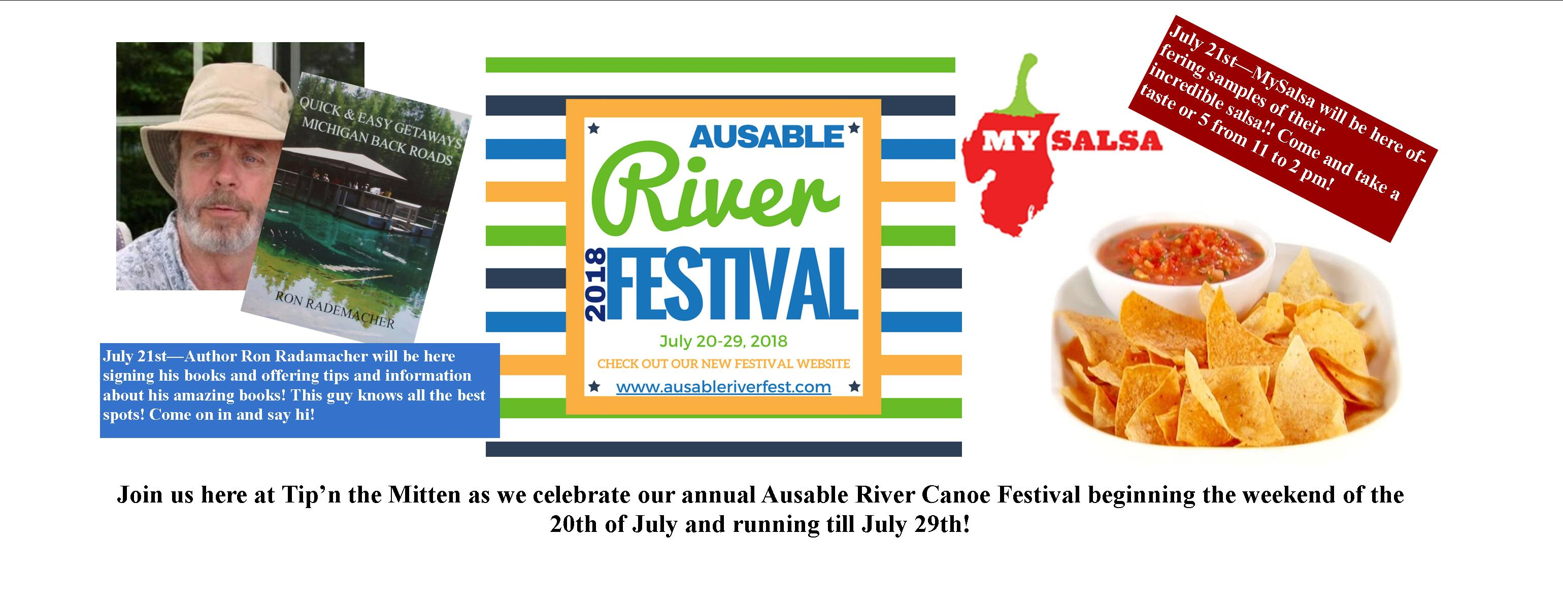 Ausable River Canoe Marathon and Festival