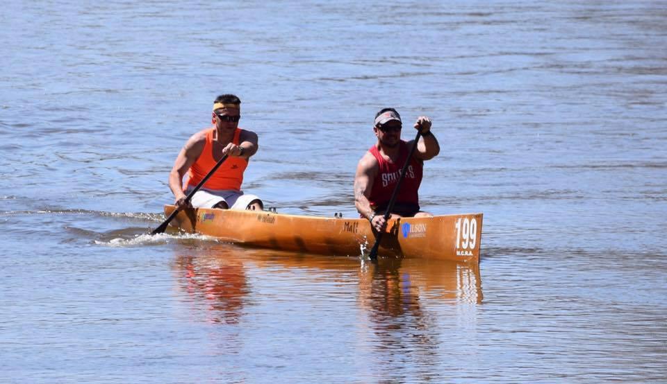 matt paddling