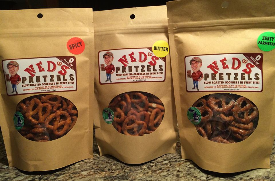 Ned's Pretzels - Featured Vendor at Tip'n the Mitten